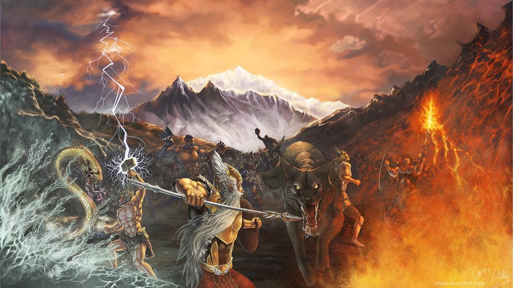 "İskandinav mitolojisinde kıyamet günü ""Ragnarok"""