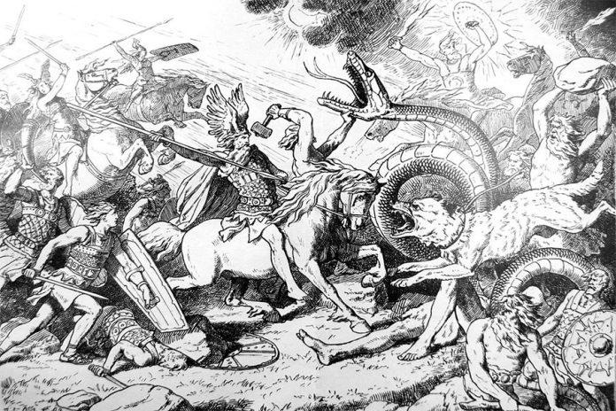 İskandinav Mitolojisi Tanrıların Doğuşu
