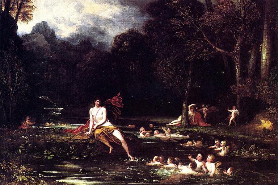 Yunan mitolojisinde su perisi Echo güzelliğiyle bilinir.