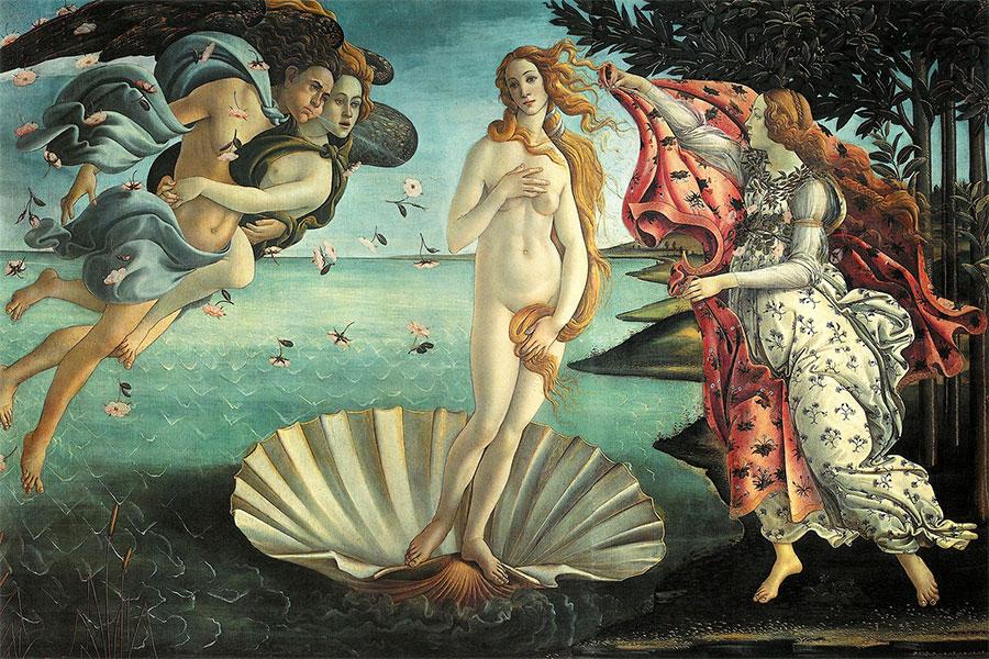 Güzelliğiyle herkesi kendine hayran bırakan ve mitolojide sürekli yaşadığı aşklarla ön plana çıkan bir tanrıçadır Afrodit.