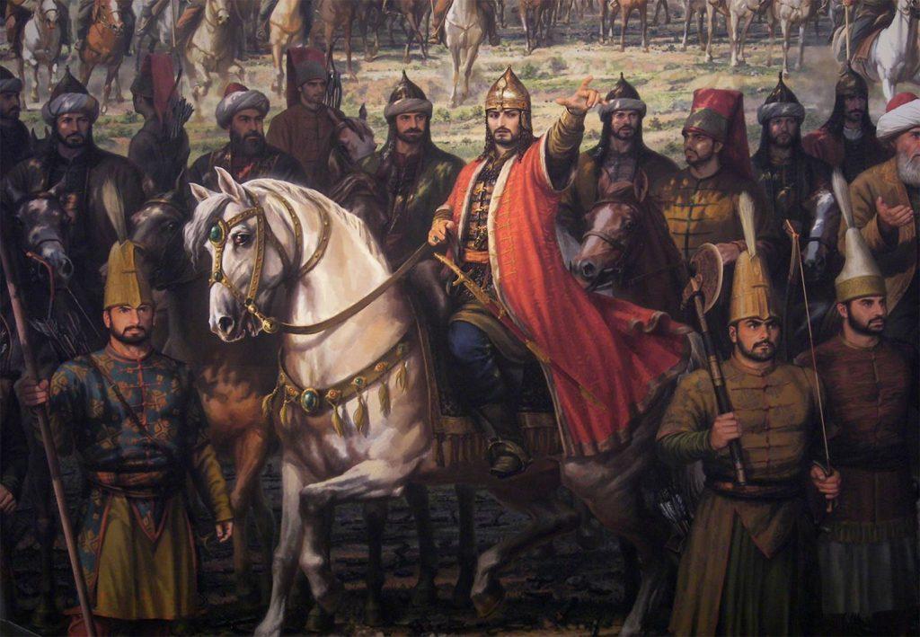 Bizans çöküşü ve Osmanlı zaferi hemen ardından geldi. 1449'da II. Mehmet Konstantinopolis'e son taarruz için hazırlanmaya başladı. II. Mehmet, 1453 Nisan'ında surları kuşattı.