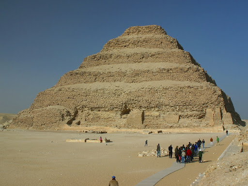 Zoser Piramidi - Antik Mısırda İnşa Edilen  İlk Piramid