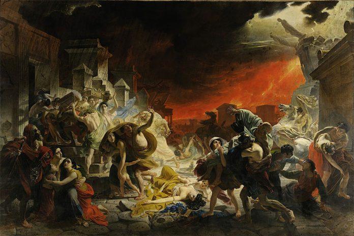 Karl Briullov, Pompei'nin Son Günü