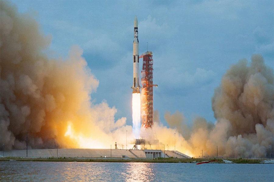 Apollo 11, fırlatma anı