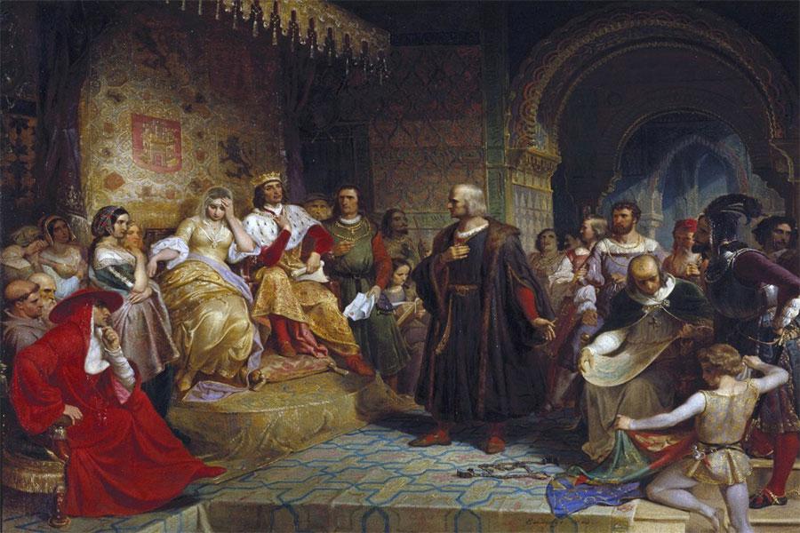 3 Ağustos 1492'de Kolomb ve ekibi İspanya'dan üç gemiyle yelken açtı