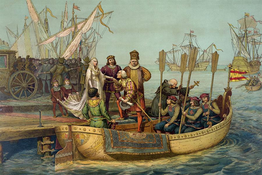 Kristof Kolomb Farklı Denizlere Yelken Açtı