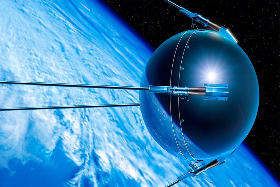 Sovyetler Birliği, ilk yapay uydu olan Sputnik'i Ekim 1957'de uzaya göndermişti.