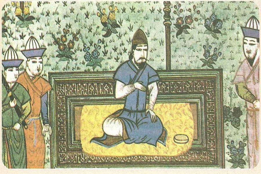 Melik Şah'ın en büyük oğlu, Sultan Berkyaruk