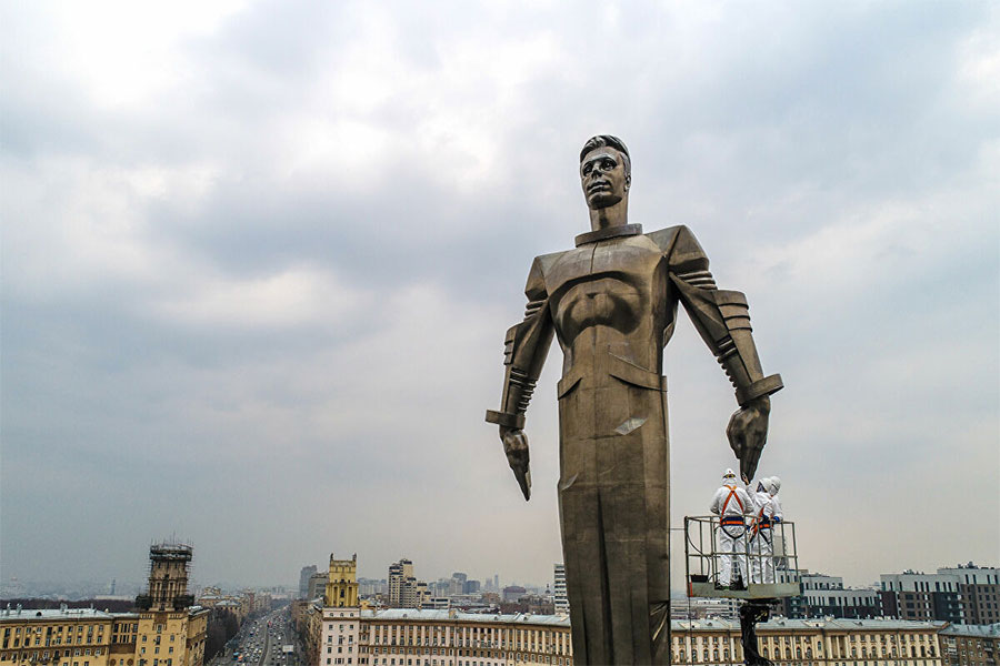 Yuri Gagarin Heykeli