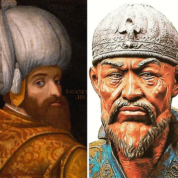 Ankara Savaşı başladı ve Timur ordusunun kanatları, Osmanlı ordusunun üzerine ilerledi.