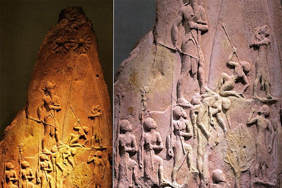 Akadlar, milattan önce 2261-2224 yılları arasında Manishtusu'nun oğlu Naram-Sin (Naram-Suen) tarafından yönetildi.