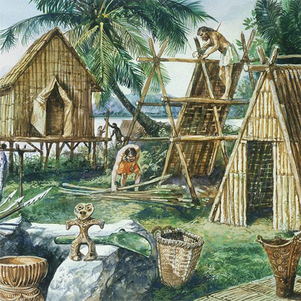 Mezolitik dönemin bitiminden sonra, Taş Devri ni son kısım olan Neolitik dönem takip etti.
