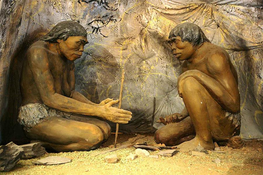 Bulunan eski taş aletlerin yanı sıra Etiyopya'da taş aletlerle yapılmış kesme izlerini temsil edebilecek çizgiler ve oyukları içeren bazı kemikler görülmüştür.