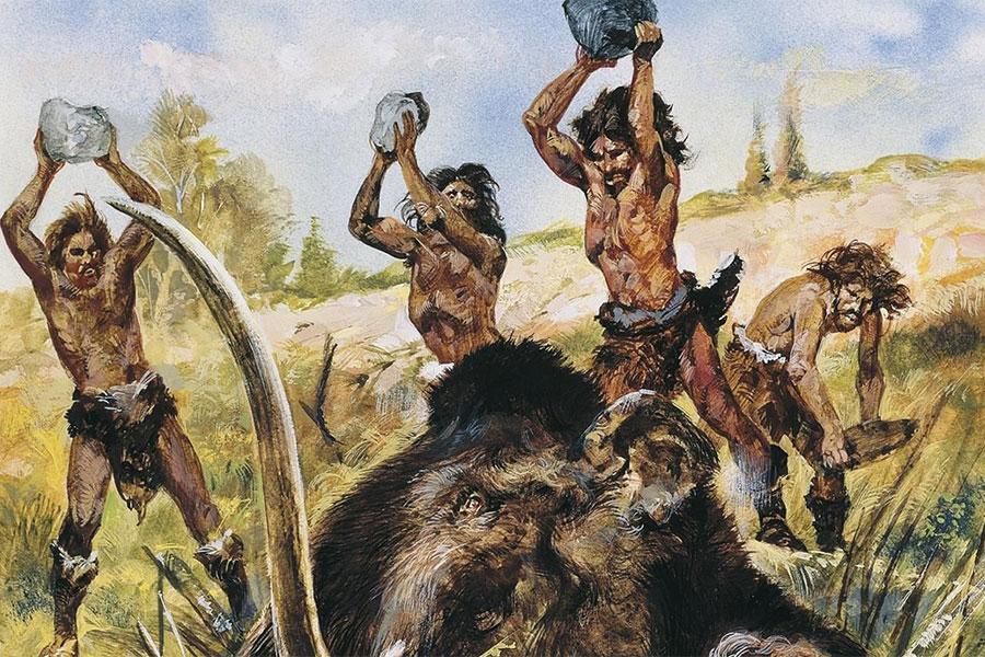 Taş Devri üç farklı döneme ayrılmıştır. Bunlardan ilki Paleolitik Çağ veya Eski Taş Devri'dir. Dönem yaklaşık 2,5 milyon yıl önce başlamıştır.