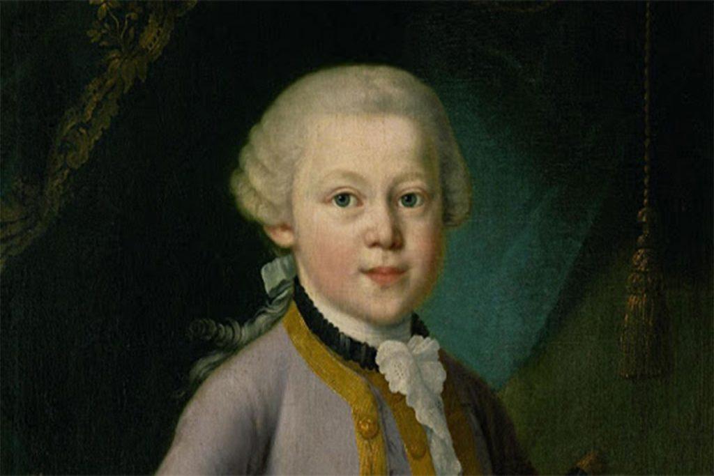 Wolfgang Amadeus Mozart, daha 6 yaşında iken, birden fazla enstrümanı çalabilen bir müzisyendi