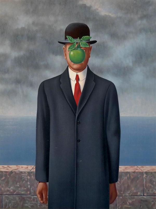 René Magritte - Adamın Oğlu