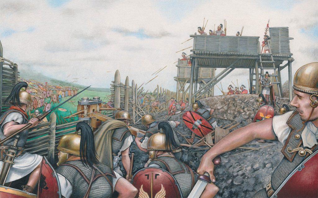 Alesia Muharebesi, MÖ 52 Eylül-Ekim aylarında Galya Savaşları (MÖ 58-51) sırasında yapıldı